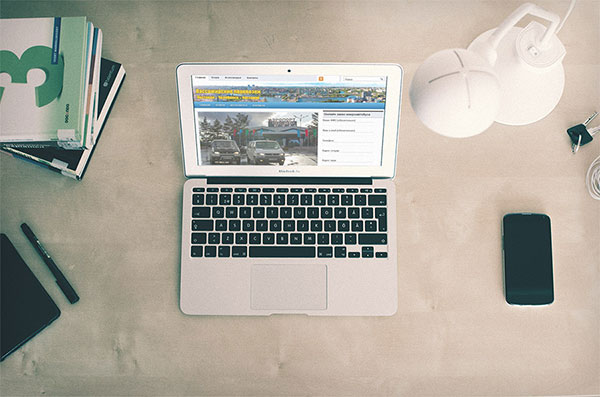 Разработка сайта Пассажирские перевозки из Костаная в Челябинск